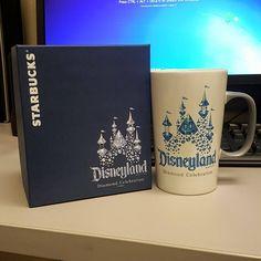 Giveaway: Starbucks Disneyland 60th Anniversary Mug + $20 Starbucks Gift Card
