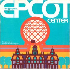 Angry AP - Disneyland and Walt Disney World nostalgia: EPCOT Center Opening Day Guide Map From October 1982 Disneylândia Vintage, Disney Vintage, Retro Disney, Vintage Disneyland, Disney Love, Disney Magic, Disney Style, Vintage Style, Disney Parks