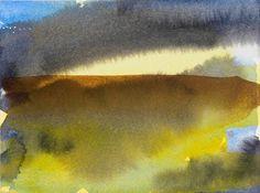 Claudia Bose, Meeneen Watercolor Landscape, Abstract Watercolor, Watercolor And Ink, Abstract Landscape, Watercolor Paintings, Watercolours, Contemporary Landscape, Impressionism, Competition