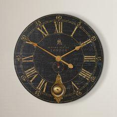 Found it at Joss & Main - Stephan Round Oversized Wall Clock