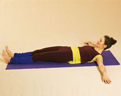 Übung 2: Langer Bauch mit gestreckten Armen und Beinen