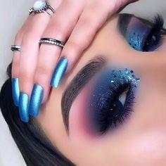 Makeup Eye Looks, Eye Makeup Art, Cute Makeup, Gorgeous Makeup, Romantic Makeup, Glam Makeup, Smokey Eyes, Smokey Eye Makeup, Eyeshadow Makeup