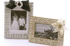 Porta retrato de casamento � fa�a o seu em casa