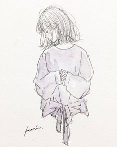 Art Anime, Anime Art Girl, Cute Cartoon Wallpapers, Cute Illustration, Art Sketchbook, Aesthetic Art, Cute Drawings, Cute Art, Art Inspo