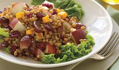 Perfect to fuel with these High-Protein Recipes! Protein Foods List, Protein Diets, High Protein Recipes, Healthy Recepies, Healthy Meals, Peach Pork Chops, Good Food, Yummy Food, Lentil Stew
