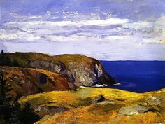 Blackhead, Monhegan Edward Hopper - circa 1918