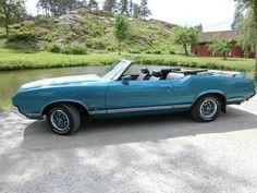 1971 Oldsmobile Cutlass Convertible 350....