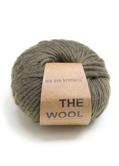100% Peruvian Wool Olive