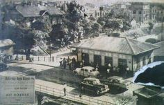 """Tam kenara koymalık.Bakırköy rezil olmadan önce ne kadar da yeşilmiş.""""@IstanLOOK: Bakırköy Tren İstasyonu  (1960lar) """""""