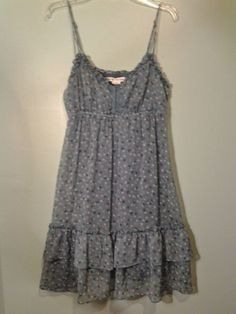 American Eagle Outfitters  Sleeveless Sun Dress Spring Summer sz 8 #AmericanEagleOutfitters #Sundress #Casual
