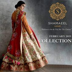 """""""FASHION IS ART AND YOU ARE THE CANVAS""""  An imaginative collection  paying tribute  to the heritage of art, artists and culture as our pallet of beauty celebrating classic vogue. Book an appointment, by contacting our team via Call/WhatsApp on +923008261123 for your order placement or if you may have any other query. Accepting international orders too.  #Shamaeel #Readytowear #luxurycollection #exhibition #whatsnew #trending #social #announcement #premiumclothing #luxurypret #couture"""