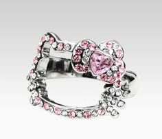 Hello Kitty Face Ring: Pink Bow  Tuesday: Anything Pink #SephoraHelloKitty