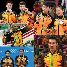 Tahniah atlet-atlet Malaysia. You worked so hard and we are proud of you all! #rio2016