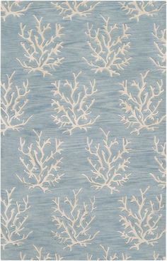 Surya Escape ESP-1 Powder Blue Rug | Contemporary Rugs #RugsUSA