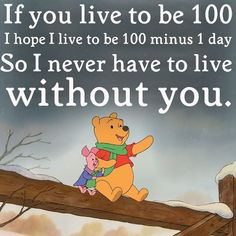 Winnie the Pooh is the smartest bear ever...... :)