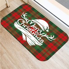 Please note, this item ships from an international seller. Expected delivery is 10-15 days. Christmas Print Doormat, Xmas Kitchen Bathroom Anti-Slip Floor Mat Carpet Foot Pad Rug Selling point:100% new high quality.Rich colors and a warmer festive atmosphere.Unique Design: Made using specially designed colorful themes on smooth material.Both functional and decorative.Perfect for kitchen, bathroom, door use. Gifts for Christmas. Feature: Material: flannelSize: 60x40cmColor: as shown… Christmas Print, Christmas Gifts, Xmas, Foot Pads, Accent Rugs, Floor Mats, Rich Colors, Carpet, Flooring