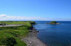 さて、二日目。北の果ての離島、利尻島に向かいます。 利尻島への玄関となるのが稚内フェリーターミナル。稚内⇒利尻…
