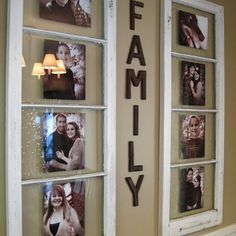 Windows into picture frames