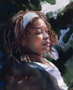 Watercolor by Mary Whyte