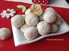 Ořechové kuličky s ovesnými vločkami Cake Recipes, Dessert Recipes, Desserts, Buffet, Food And Drink, Cookies, Breakfast, Ethnic Recipes, Advent
