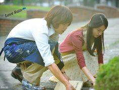 Official photos of Yoona and actor Jang Geun-seuk for KBS TV drama Love Rain. Love Rain Drama, Lee Sun, Rain Pictures, Rain Photo, Watch Korean Drama, Drama School, Still Picture, Romance, Japanese Drama