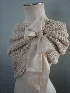 free shipping ready to ship bridal bolero  wedding by denizy03