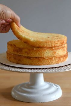 Vanilla Buttermilk Cake is the old fashioned layer cake we all know and love. The cake has a moist, fine crumb and lovely vanilla flavor. Layer Cake Recipes, Dessert Cake Recipes, Cupcake Recipes, Cupcake Cakes, Layer Cakes, Cupcakes, Sweets Cake, Moist Vanilla Cake Recipe With Oil, Vanilla Birthday Cake Recipe