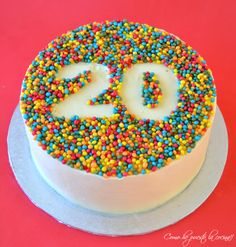 birthday cake - birthday cake The most beautiful, most delicious, newest recipes on this page. Cupcakes, Cupcake Cakes, 20 Birthday Cake, Easy Cake Decorating, Number Cakes, Specialty Cakes, Dessert Drinks, Creative Cakes, Celebration Cakes
