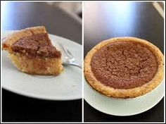 """Growing up in a little Northern USA city called New York, one of the thing you were likely to see were Black men wearing bow-ties who would say, """"Bean pies, my brother?"""" They are usuall… Navy Bean Pie Recipe, Navy Bean Recipes, No Bake Desserts, Just Desserts, Delicious Desserts, Sweet Desserts, Healthy Desserts, Pie Recipes, Baking Recipes"""