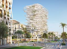 sou fujimoto  laisné roussel design buildings for nice as part of lambert lenack-led plans | Netfloor USA