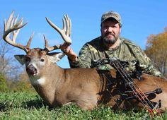Dave Comer killed this 18 point buck, the best of his hunting career. (Photo:Tyler Streit)