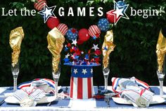 Easy Summer Olympic Party!