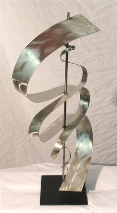 Charming Contemporary Stainless Steel Sculpture