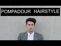 Pompadour Tutorial for Medium/Long Hairstyles | Tim Bryan - YouTube
