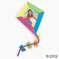 Make you own student photo kite frame