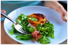 Summer salad.. Apricots..