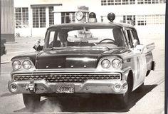 vintage Ford SFPD patrol car