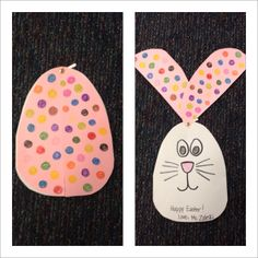 Easter bunny craft!