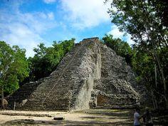Mexico - Coba, Nohoch Muul Temple