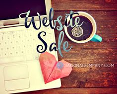 What? Sale! Mini Website Sale and Website Makeover Sale!