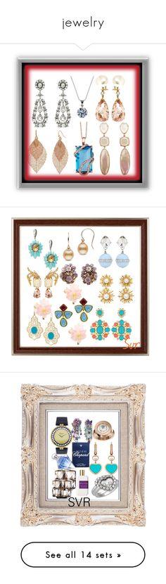 """jewelry"" by svrrvs ❤ liked on Polyvore featuring art, Stephen Dweck, Miu Miu, VIcenza, Oscar de la Renta, Chanel, Chopard, Clé de Peau Beauté, Atelier Cologne and beauty"