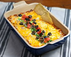 Touchdown Taco Dip from CulinaryEnvy.com