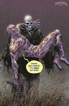 "Deadpool #45 ""Death of Deadpool"" Tony Moore Variant Cover"