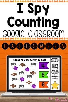 This is a fun digital interactive fall counting activity perfect for your Preschool, Kindergarten & 1st Grade students! This Google Slides game is a great way to get your kids to practice counting numbers 1-10. These are great games for Distance Learning or at home with your Elementary kids using Google Classrooms! They are no prep and no worksheets needed! Each card will have a fun Halloween theme. Great to use in a technology or an October math center!