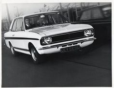 Ford Lotus Cortina Mk2 Launch Press Photograph