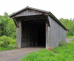 New York State Covered Bridges - Travel Photos by Galen R Frysinger, Sheboygan, Wisconsin