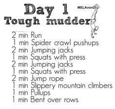 Training is everything before you undergo the Tough Mudder race and this is only day 1! Make sure you're prepared and learn more about this extreme race on June 20 from 7 to 10pm at the Observatory in Georgetown. It's time to Get Tough on Domestic Violence! https://www.facebook.com/events/600373996661327/?fref=ts