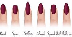 12 Trendy Looking Nail Shapes For This Fall and Winter As a woman, I appreciate good looking and neatly made nails. Many of you will agree with me that short and beautiful nails are a big win. Square Oval Nails, Different Nail Shapes, Types Of Nails Shapes, Eye Shapes, Nagel Hacks, Dipped Nails, Super Nails, Nagel Gel, Gorgeous Nails