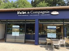 Enseigne bloc led – Victor Made In France, Facade, Outdoor Decor, Retail, Home Decor, Applique Letters, Toy Block, Bakery Business, Decoration Home