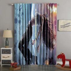 3D Printed Teleios Style Custom Living Room Curtains – Westbedding